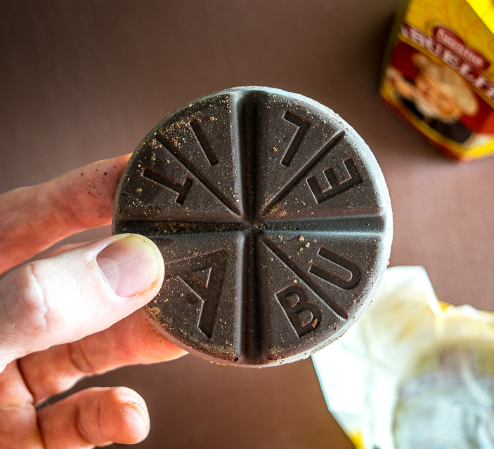 Abuelita chocolate disk for Champurrado
