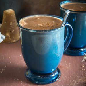 Here's an easy recipe for a delicious Champurrado -- a warm, hearty Mexican chocolate drink that is becoming more and more popular in the States. Yum! mexicanplease.com