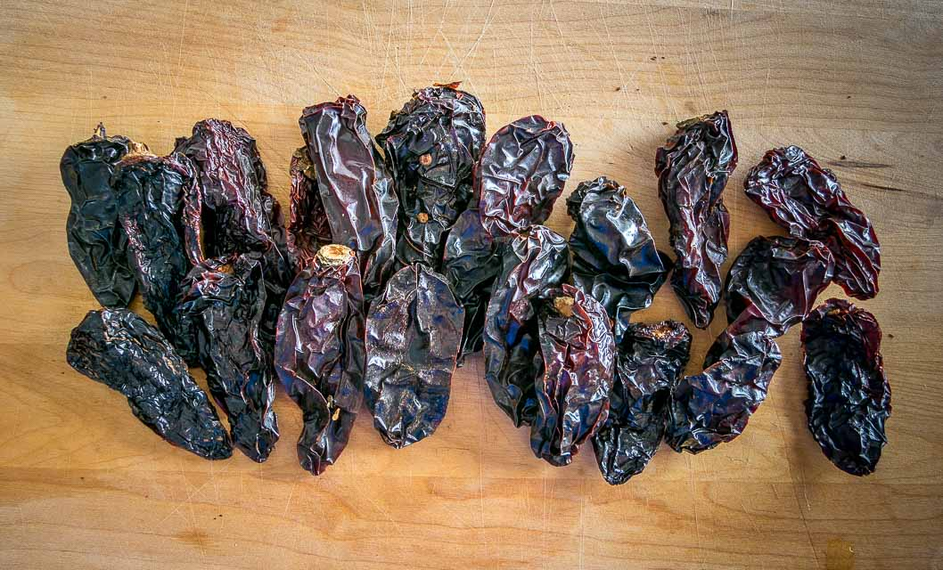 20 Morita chiles for homemade chipotles in adobo