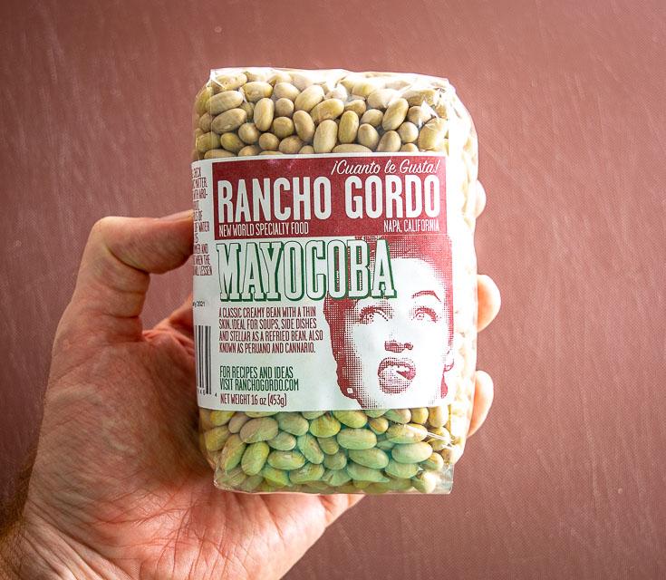 1 lb. Rancho Gordo Mayocoba beans