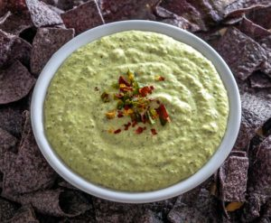 Roasted poblano peppers give this Queso Dip a rich, satisfying flavor. But consider yourself warned as it has some serious zip! mexicanplease.com