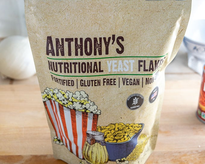 Big bag of Anthony's nutritional yeast