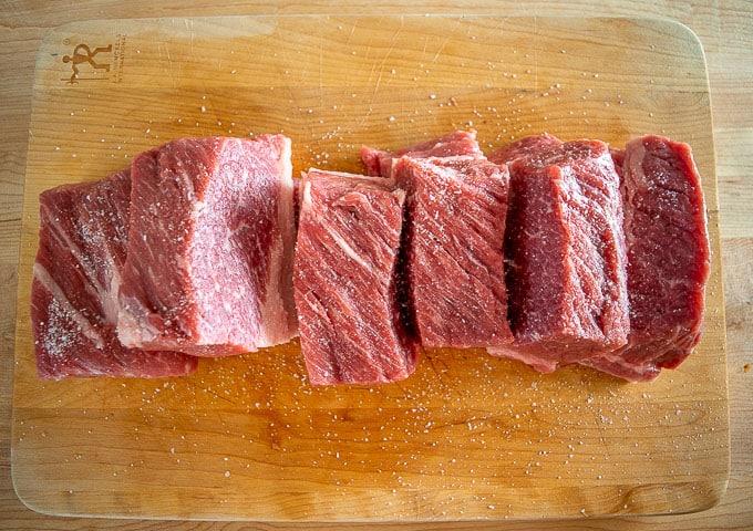 3 lbs. beef brisket