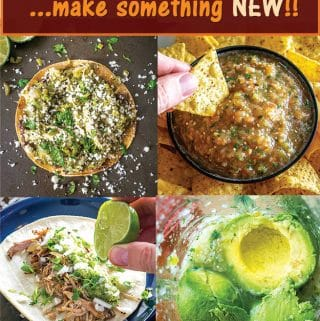 Cinco de Mayo is here!! It's the perfect opportunity to make something NEW and different. Here are 17 choices for instant YUMS!! mexicanplease.com