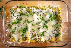 I've been making these easy Enchiladas Verdes more often over the past few months. But don't let the simple ingredient list fool you as you can get incredible flavor when building this green sauce from scratch! mexicanplease.com