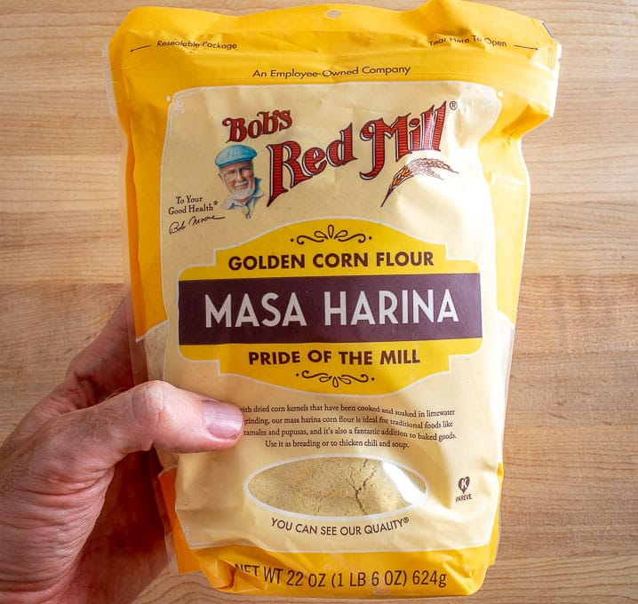 Bob's Masa Harina for the corn tortillas