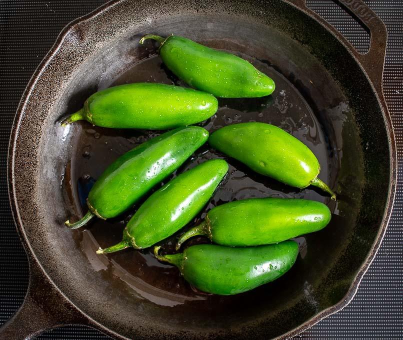 1/2 lb. jalapenos for Chiles Toreados