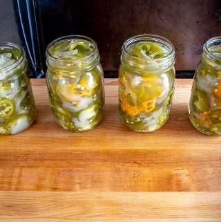 If you ever find yourself craving more heat in your Pickled Jalapenos, just add 3-4 Habanero chiles for every pound of Jalapenos. But consider yourself warned as this will add some real zip! mexicanplease.com