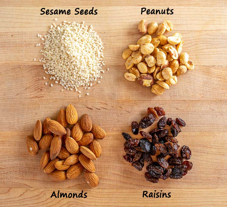 Nuts and Seeds for Mole sauces