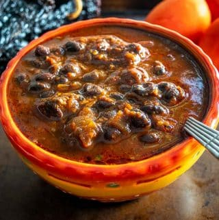 If you grew up with Chili then you MUST try this authentic Chili con Carne. Using dried chiles gives you a massive upgrade in flavor -- so good!