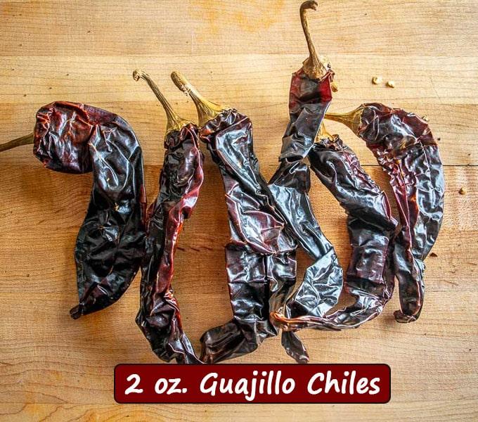 2 oz. Guajillo chiles