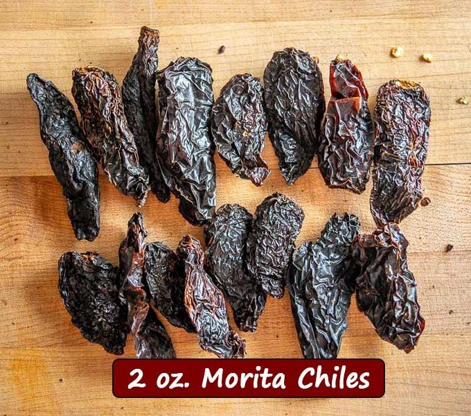 2 oz. Morita chiles